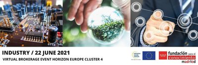 Horizon Europe Cluster   INDUSTRIA