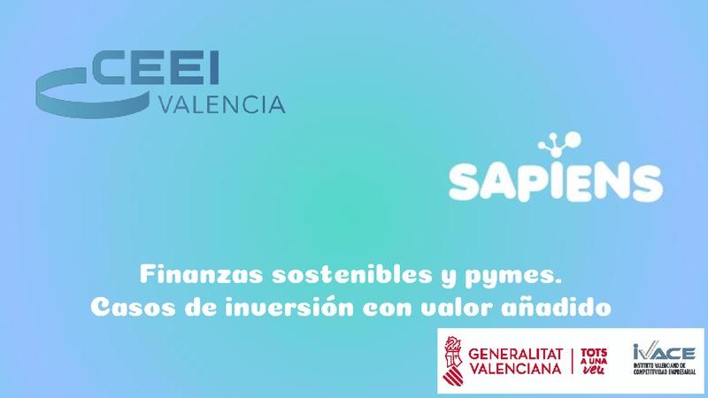 Presentación Olivia Fontanillo de Sapiens Energía 'Finanzas sostenibles y pymes. Casos de inversión con valor añadido'