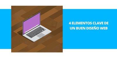 4 elementos clave de un buen diseño web