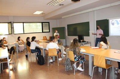 El equipo de Florida Universitària de PAL WOMEN organiza un workshop en el Campus de Catarroja