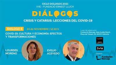 Dialogos2021.Covid-19, cultura y economía: efectos y transformaciones