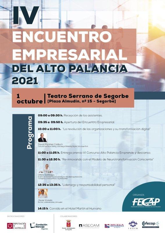 IV ENCUENTRO EMPRESARIAL DEL ALTO PALANCIA 2020-2021