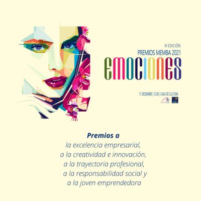 """IV edición de los Premios Memba 2021 """"Emociones"""""""