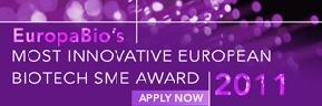 EuropaBio lanza el premio a la pyme biotecnológica europea más innovadora