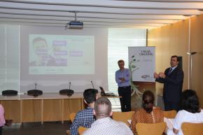 Presentación de la jornada, Luis Miguel Batalla, técnico del CEEI Castellón