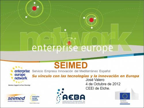 SEIMED y la Enterprise Europe Network EEN.