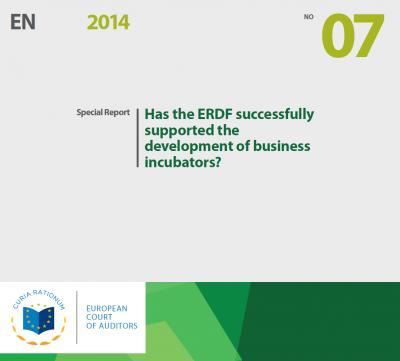 Incubators Special Report of the European Court of Auditors