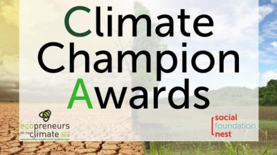 Climate Champion Awards en Ecopreneurs for the climate 2016