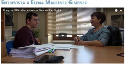 """Elena Martínez: """"Desde la agencia apoyamos el desarrollo del municipio"""""""