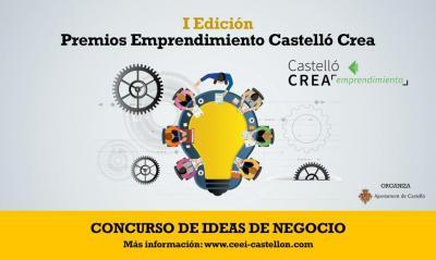 """I Edición """"PREMIOS EMPRENDIMIENTO CASTELLÓ CREA"""" EN CASTELLÓN"""