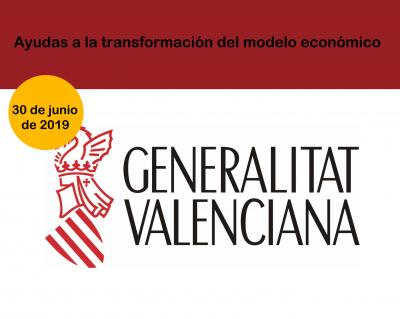 Ayudas a la transformación del modelo económico cv