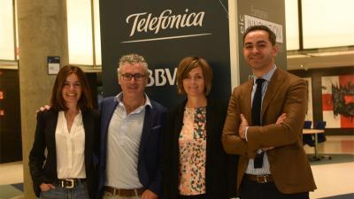 Telefónica y BBVA exploran oportunidades de negocio con startups