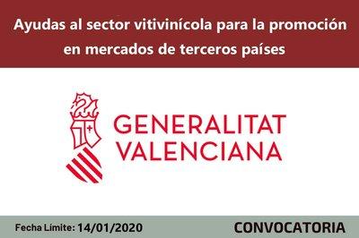 Ayudas al sector vitivinícola valenciano