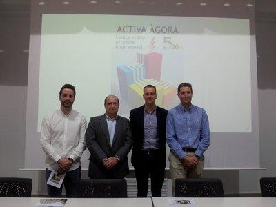 Presentación de la V edición de Activa Àgora
