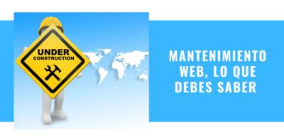 matenimiento web