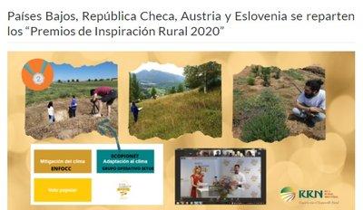 Premios inspiración rural 2020