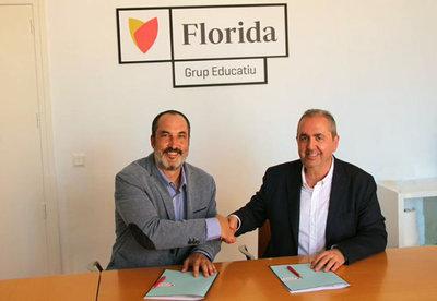 Florida Universitària firma un convenio con Foro de Logística