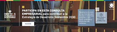 Se lanza una consulta pública sobre Desarrollo Sostenible para empresas