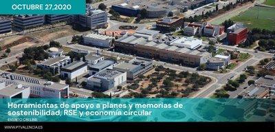 Programa Herramientas de apoyo a planes y memorias de sostenibilidad, RSE y economía circular