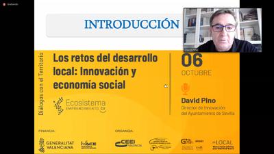 David Pino ha abierto el ciclo de 'Diálogos con el Territorio'