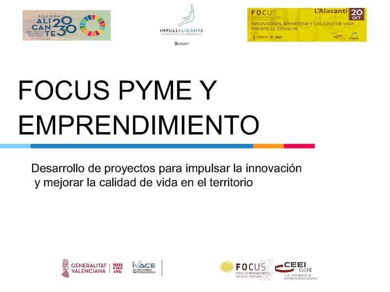 Desarrollo de proyectos para impulsar la innovación - Ayuntamiento de Alicante