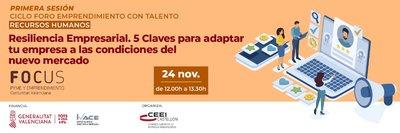 """Ponencia de Antonio Beltrán  en """"Resiliencia Empresarial. 5 Claves para adaptar tu empresa a las condiciones del nuevo mercado""""."""