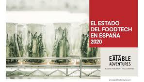 Informe sobre El estado del Foodtech en España