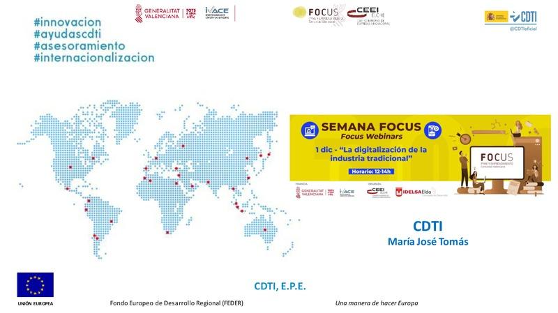 CDTI-Apoyo y financiación de la I+D+I española
