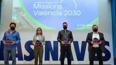 37 proyectos se reparten 700.000 euros en los V Premios de Innovación Missions València 2030