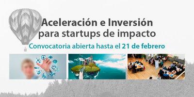 Abrimos nuevas convocatorias para los programas de aceleración para startups y entidades del Tercer Sector