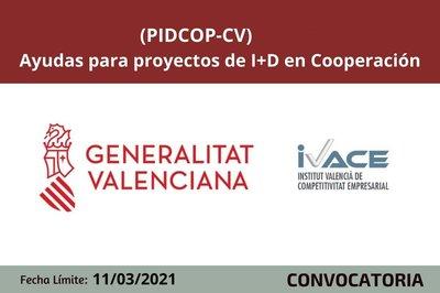 Ayudas PIDCOP CV 2021