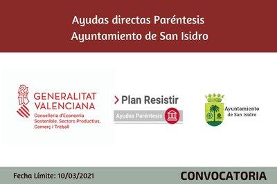 Ayudas Económicas Covid 19 - Ayuntamiento de San Isidro