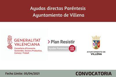 Ayudas Económicas Covid 19 - Ayuntamiento de Villena