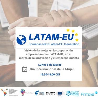 La Fundación Finnova celebra la primera jornada del ciclo Next LATAM-EU Generation con motivo del Día Internacional de la Mujer