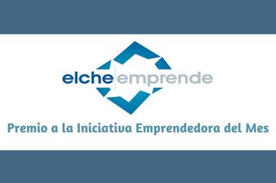Premio a la Iniciativa Emprendedora del Mes-Ayuntamiento de Elche