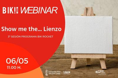 Presentación Webinar Bik Rocket:  Show me the... lienzo