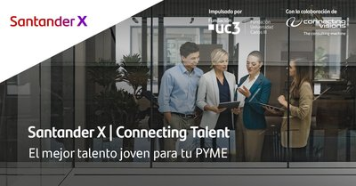 Convocatoria Programa de Becas Connecting Talent de Santander