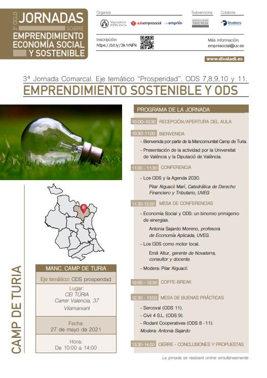 Emprendimiento Sostenible y ODS- Vilamarxant (Camp de Turia)