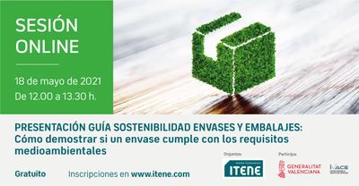 Presentación de la guía para garantizar la sostenibilidad de envases y embalajes