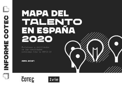 Mapa Talento España 2021 COTEC IVIE