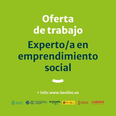 Experto/a en Emprendimiento Social